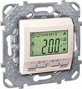 Schneider Electric Unica KNX MGU5.534.25 Термостат электронный 0…+40°С (под рамку, скрытая установка, бежевый)