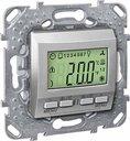 Schneider Electric Unica KNX MGU5.534.30 Термостат электронный 0…+40°С (под рамку, скрытая установка, алюминий)