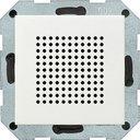 Gira System55 228203 Динамик радиоприемника (RDS, под рамку, скрытая установка, белый глянцевый)