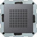 Gira System55 228228 Динамик радиоприемника (RDS, под рамку, скрытая установка, антрацит)
