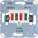 Jung SLA2WW Розетка аудио (2xAudio, механизм, скрытая установка, белая)