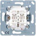 Jung 539VU Выключатель двухкнопочный для жалюзи (10 А, без фиксации, механизм, с/у)