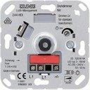 Jung 244HEX Светорегулятор роторный (500 Вт, механизм, скрытая установка)