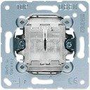 Jung 505TU Выключатель двухклавишный самовозвратный (10 А, механизм, с/у)