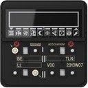 Jung RCDCD4092M Контроллер модуль комнатный KNX 2 группы (скрытая установка, механизм)