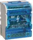 Шины на DIN-рейку в корпусе (кросс-модуль) 3L+PEN 4х7