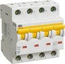 IEK ВА47-60 MVA41-4-050-C Автоматический выключатель четырехполюсный 50А (6 кА, C)