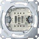 Schneider Electric System M QuickFlex MTN3150-0000 Выключатель однокнопочный с замыкающим контактом (10 А, механизм, скрытая установка)