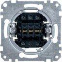 Schneider Electric System M QuickFlex MTN311900 Выключатель трехклавишный (10 А, механизм, скрытая установка)