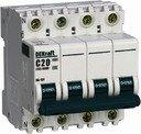 DEKraft 11241DEK Авт. выкл. 3P+N 32А х-ка B ВА-101 4,5кА