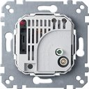 Терморегулятор с выключателем (10 А, механизм, скрытая установка)