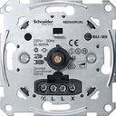 Schneider Electric Merten Antique MTN5139-0000 Светорегулятор поворотно-нажимной (600 Вт, механизм, с возм. подсветки, возм. упр. с 2х мест, с/у, с возм. о/у)