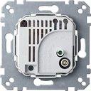 N536400 Терморегулятор (10 А, механизм, скрытая установка)
