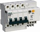 Schneider Electric 15031DEK Диф. автомат 4Р 25А 100мА тип AC х-ка С ДИФ-101 4,5кА D