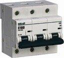 DEKraft ВА-201 13031DEK Автоматический выключатель трехполюсный 125А (10 кА, D)