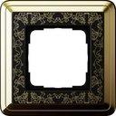 Gira ClassiX Art 0211672 Рамка 1-постовая (латунь/черный)