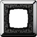 Gira ClassiX Art 0211682 Рамка 1-постовая (хром/черный)