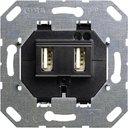 Gira ClassiX/ClassiX 235900 Розетка USB (2 шт, механизм, с/у)