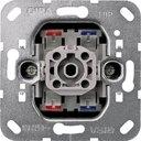 Gira System55 011200 Выключатель одноклавишный двухполюсный (10 А, индикация, механизм, скрытая установка)