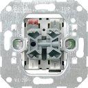 Gira System55 015900 Выключатель жалюзи двухклавишный (10 А, с фиксацией, механизм, скрытая установка)