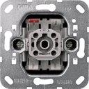 Gira System55 015100 Кнопка Н.О. одноклавишная (10 А, с возм. подсветки, механизм, скрытая установка)