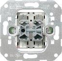 Gira System55 015500 Кнопка П.К. + П.К. двухклавишный (10 А, механизм, скрытая установка)