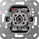 Gira System55 010600 Переключатель одноклавишный (10 А, с возм. подсветки, механизм, скрытая установка)