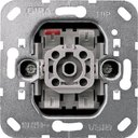 Gira System55 015600 Кнопка П.К. одноклавишная (10 А, с возм. подсветки, механизм, скрытая установка)