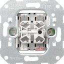 Gira F100 00010500 Выключатель двухклавишный (10 А, механизм, скрытая установка)