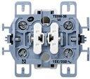 Simon 73 Loft 73398-39 Выключатель двухклавишный (10 А, механизм, открытая установка)