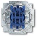 ABB Allwetter/Alpha Exclusive 2CKA001012A2197 Выключатель жалюзи двухклавишный (10 А, с фиксацией, механизм, с/у)