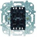 ABB Niessen 8111 Выключатель двухклавишный (10 А, механизм, с/у)