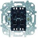 ABB Niessen 8144 Выключатель жалюзийный кнопочный (10 А, без фиксации, механизм, с/у)