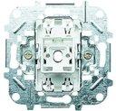 ABB Niessen 2CLA810110A1001 Выключатель одноклавишный двухполюсный (16 А, с возм. подсветки, механизм, с/у)