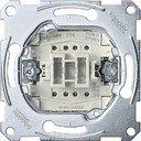 Schneider Electric System M QuickFlex MTN3114-0000 Выключатель одноклавишный с сигнальным контактом (10 А, с возм. подсветки, механизм, скрытая установка)