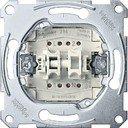 Schneider Electric System M QuickFlex MTN3125-0000 Выключатель двухклавишный с зажимом нейтрали (10 А, механизм, скрытая установка)