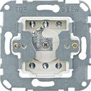 Schneider Electric System M QuickFlex MTN318901 Выключатель двухкнопочный для рольставней с фиксатором положения для замочного цилиндра (10 А, механизм, скрытая установка)