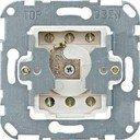 Schneider Electric System M QuickFlex MTN318501 Выключатель двухкнопочный для рольставней с фиксатором положения для замочного цилиндра и фиксатором положения (10 А, механизм, скрытая установка)