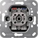Gira System55 011600 Переключатель одноклавишный (10 А, механизм, индикация, скрытая установка)