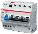 ABB DS204 2CSR274101R1254 Выключатель дифференциального тока четырехполюсный 25A 30мА (тип A)