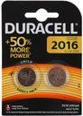 Duracell CR2016-2BL Батарейки CR2016 3В (2 шт.)