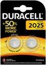 Duracell CR2025-2BL Батарейки CR2025 3В (2 шт.)