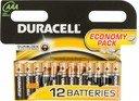 Duracell LR03-12BL Батарейки AAA LR03 1.5В (12 шт.)