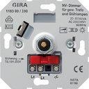 Gira 118300 Диммер поворотный (20-500 Вт, механизм, скрытая установка)