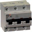 КЭАЗ ВА47-100 141632 Автоматический выключатель трехполюсный 100А (10 кА, D)