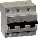 КЭАЗ ВА47-100 141631 Автоматический выключатель 3P 80А (10 кА, D)